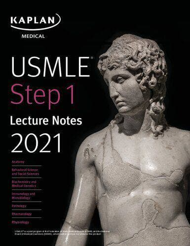 Kaplan USMLE step 1 lecture notes ( all volumes in one book),*2021*