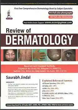 Review of dermatology 1st edition, *2018*